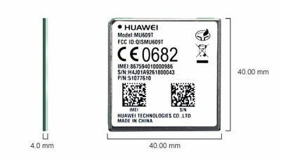 Huawei MU609T, LGA, HSPA + / UMTS quad-band