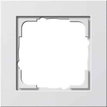 Krycí rámik 1x Gira E2 biela