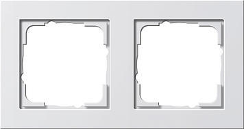 Krycí rámik 2x Gira E2 biela