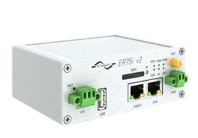 ER75i v2 industry GPRS/EDGE router, EMEA, Metal,