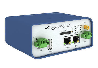 ER75i v2 Průmyslový GPRS/EDGE router, EMEA, Metal,