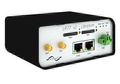 LR77 v2 Libratum LTE router, EMEA, Plastový, ACC EU