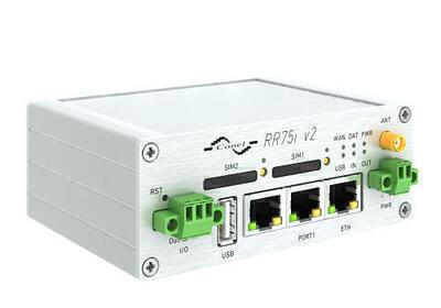 RR75i v2 Railway GSM-R router, GSM-R, Metallisch, No AC