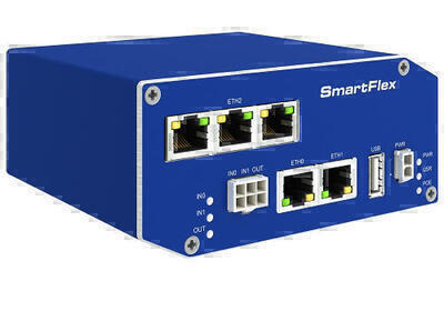 SmartFlex industriell drahtgebundener router, weltweit, Plastik