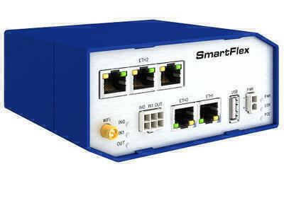 SmartFlex industriell drahtgebundener router, weltweit, Metallisch