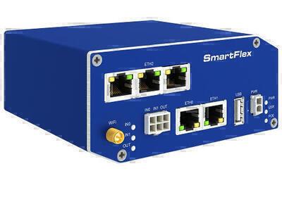 SmartFlex industriell LTE router, EMEA, Plastik, AC