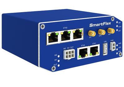 SmartFlex industriell LTE router, EMEA, Metallisch, ACC