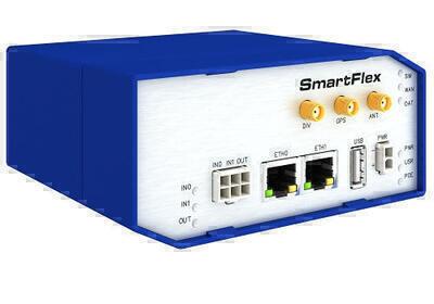SmartFlex PoE priemyselný LTE router, EMEA, Plastový