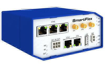 SmartFlex PoE Průmyslový LTE router, EMEA, Plastic