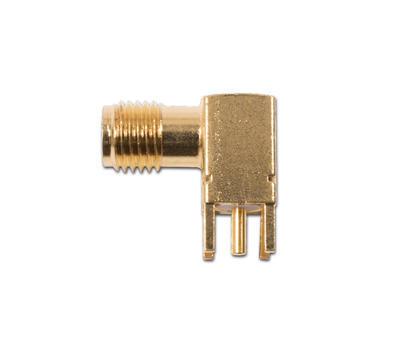 Konektor SMA úhlový  jack  PCB - 1