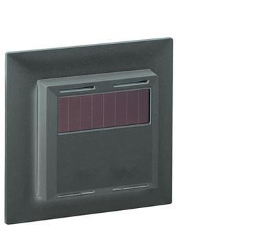 Bezdrátové pokojové teplotní/vlhkostní čidlo černé