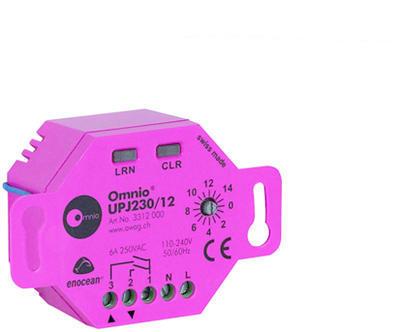 Bezdtrátový přijímač pro žaluzie 230V AC/6A