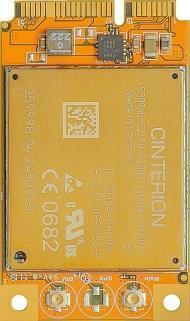 Cinterion 3G Mini PCI Express card PHS8-P