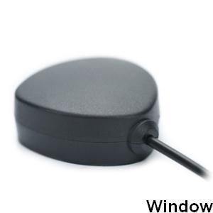 Anténa GPS pro montáž na sklo SMB