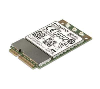Huawei MU609 Mini PCI Express , HSPA + / UMTS quad-band