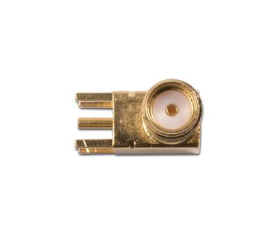Konektor SMA úhlový  jack  PCB - 3